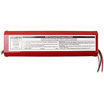 41ZhTTgNHnL._SL500_AC_SS350_ bodine b100 emergency backup battery 90 min operates 17 bodine b90 emergency ballast wiring diagram at gsmportal.co