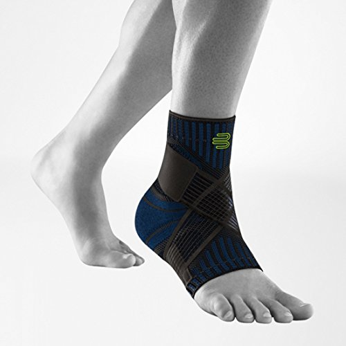 Bauerfeind Sports Ankle Support - Breathable Compression (Black, Medium/Right) Photo #1
