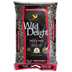 Wild Delight 365200 20-Pound Fruit N-Feet Berry Birdfood