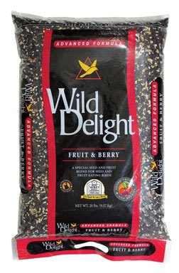 Wild Delight 365200 20-Pound Fruit N-Feet Berry Birdfood Fruit Berry Nut