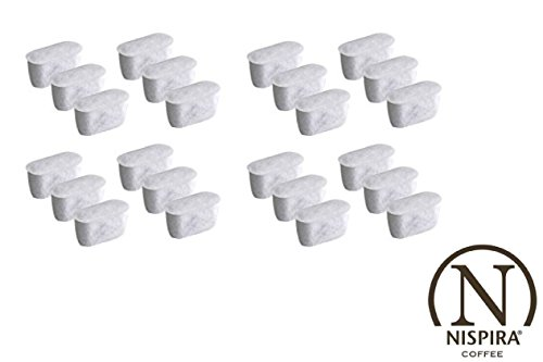 24 Nispira Activated Charcoal Water Filters Replacement, Com