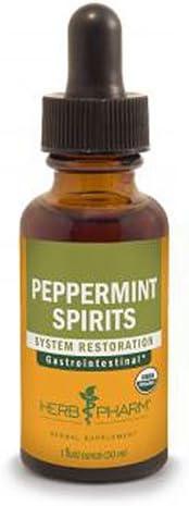 Herb Pharm Peppermint Spirits Extract – 1 Oz, 2 pack