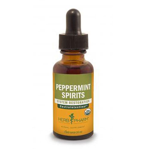 (Herb Pharm Peppermint Spirits Extract - 1 Oz, 2 pack)