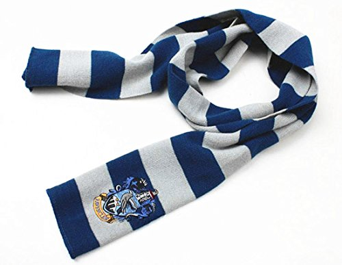 Harry Potter Vouge Gryffindor House Cosplay Knit Wool Warm Costume Scarf Wrap (Blue (Harry Potter Scarf Gryffindor)