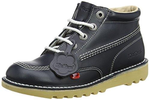 Ankle Kids Hi Kick Blue White Dk Kickers Boots RA7Cqwq