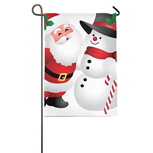 Cute Christmas Clipart Snowman Indoor Outdoor Garden Flag House Garden Flag Garden Flag Banner Decorative Flag Garden Flag 1218inch 1827inch For Choose (Snowman Clipart)