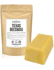 Texas Beeswax by Better Shea Butter - 1 lb block