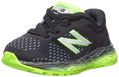 Price comparison product image New Balance Boys' Arishi V2 Running Shoe,  Black / RGB Green,  7 W US Toddler