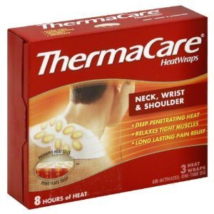 - ThermaCare Heatwraps Neck, Shoulder & Wrist 3 Each ( Pack of 6)
