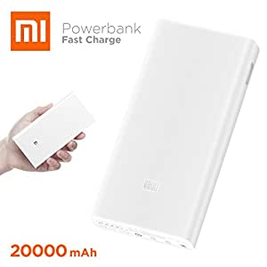 Xiaomi Power Bank 20000mAh 2C Dual USB Quick Charger - White