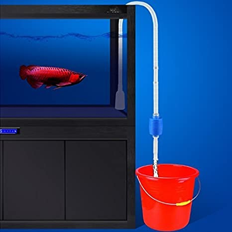 Limpiafondos acuario accesorio sifon limpieza pecera tubo saca ...