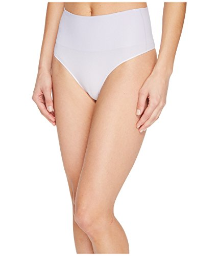 SPANX Women's Everyday Shaping Panties Seamless Thong Lilac Ombre Underwear