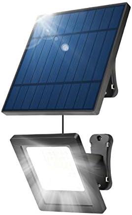 NING ZE XIN Solar Lights Outdoor,30 LED Spotlight 30-Watt Solar Light 9.2ft Extension Cord Light Control IP65 Waterproof Solar Security Lights With Adjustable Solar Panel for Yard, Garden, Patio,Lawn,