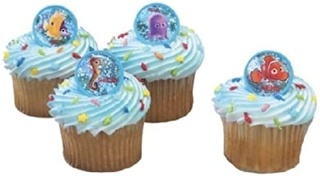 Disney Finding Nemo Cake Toppers Set of 12 Fun Figures with Dory Nemo and More!