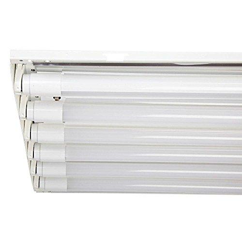 120W 6 Lamp High Bay Warehouse Shop Light Fixture T8 LED W