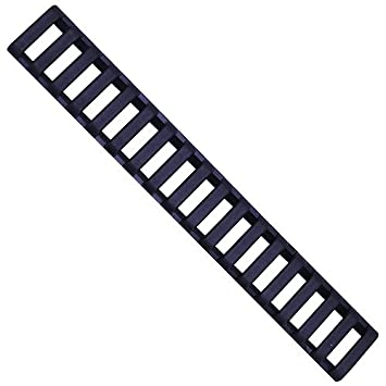 4489b0eaac3 Ergo Grips 18-Slot Ladder LowPro Picatinny Rail Covers - 3 Pack - All  Colors  Amazon.co.uk  Sports   Outdoors