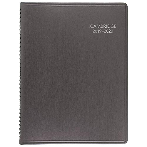 Appointment Book Appointment Books - Cambridge 2019-2020 Academic Year Weekly & Monthly Appointment Book / Planner, Large, 8