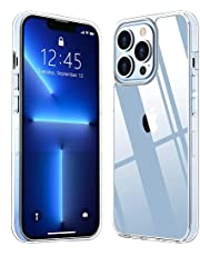 """TR4U – Crystal Clear Case Designed for New iPhone 13 Pro Max (6.7"""") / Ultra-Thin Slim Soft TPU - Screen Camera Protection - Wireless Charging Compatible"""