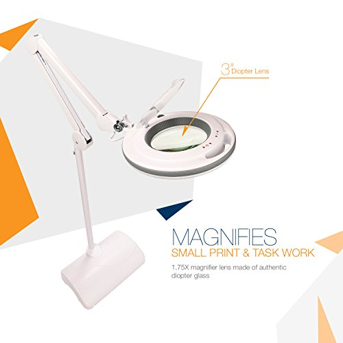 Brightech Lightview Pro 2 In 1 Dimmable Led Magnifying