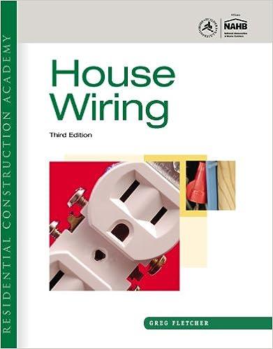 Wondrous Residential Construction Academy House Wiring Gregory W Fletcher Wiring 101 Relewellnesstrialsorg