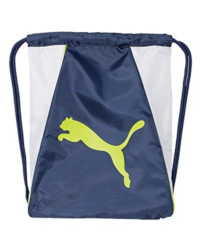 Puma - Cat Carry Sack - PSC1007 (Navy/ White/ (Puma Green Bag)