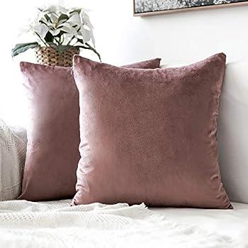 Amazon.com: Kevin Textile Faux Linen Square 2 Tone Woven ...