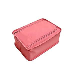 Convenience Travel Storage Bag Multi-functional Waterproof Nylon Shoes Organizer Bags Shoe Sorting Pouch Handbag Portable Classification Bags