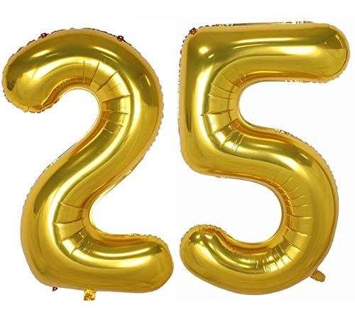 (Tellpet Gold Number 25 Balloon, 40)