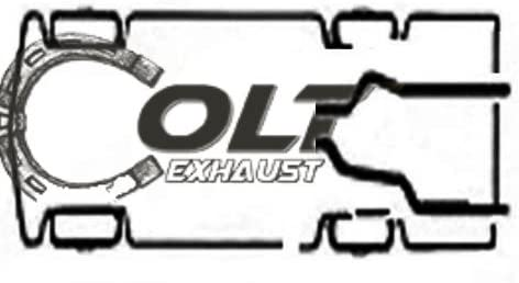 Dual Conversion Exhaust Kit Fits 1989-2002 Chevy/GMC C and K pick up trucks 1500/2500.