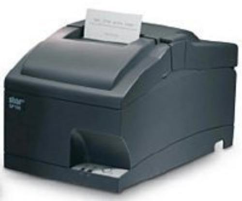 Star Micronics 37999220 Model SP712MD Impact Friction Printer, Tear Bar, Serial, Power Supply Included, Rewinder/Journal, Gray