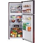 LG 260 L 2 Star Smart Inverter Frost-Free Double Door Refrigerator (GL-T292RSCY, Scarlet Charm, Convertible)