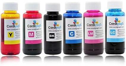 Bulk – Paquete de 2 recambios de tinta para Epson Impresora de 6 ...