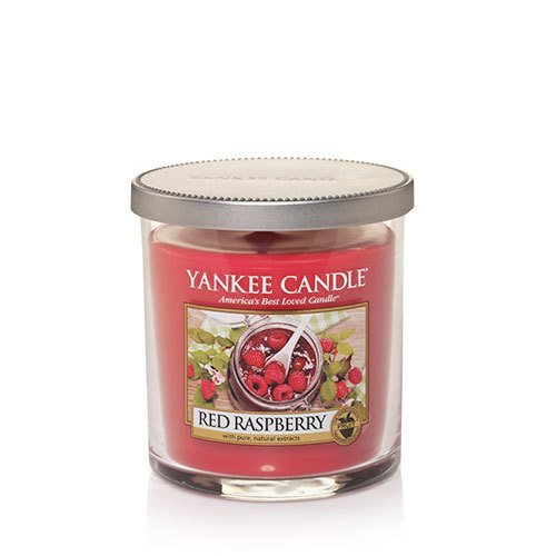 Yankee Candle Red Raspberry Small Single Wick Tumbler Candle, Fruit Scent - Small Red Cherry