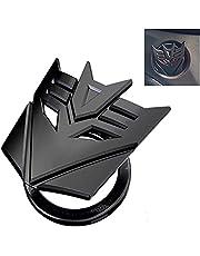 Cubierta protectora del botón de arranque del motor del coche, cubierta universal del casquillo de la llave del coche accesorios del coche (negro)