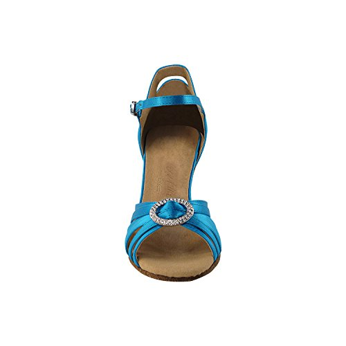 Wedding Party Latin Pump Shoes Swing Shoes Salsa Blue Ballroom Dance Gold Swing Tango Party Heel Satin Tango 1154 Comfort Women Evening Pigeon Salsa Shoes SERA3830 Medium Dress High Latin Ezwqw48