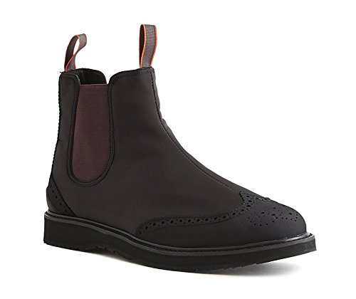 Swims Mens Barry Classic Chelsea Boot Black Size 11 by SWIMS
