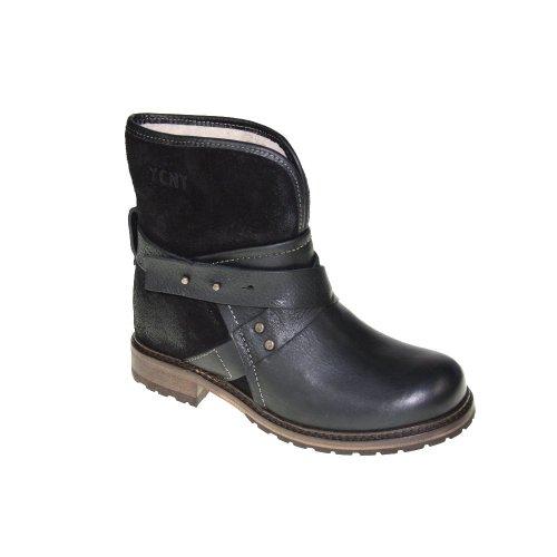 YELLOW CAB Schuhe - Stiefelette SNOW - 26011 - black