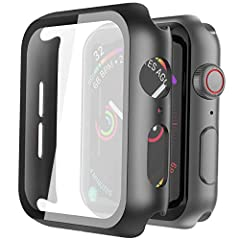 Misxi PC Hard Case Compatible with Apple Watch Series 5 & Series 4 40mmApplication Compatible with Apple Watch Series 5 & Series 4 40mmHigh Quality With updated technology for the Series 5 & Series 4, Misxi PC cases with bu...