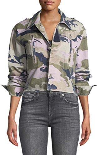 Zadig & Voltaire Womens Annule Kids Camo Jacket, M, for sale  Delivered anywhere in USA