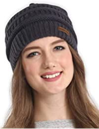 24d78bd5de4 Cable Knit Multicolored Beanie - Stay Warm   Stylish - Thick