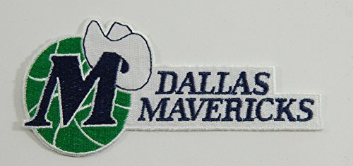 Dallas Mavericks NBA Embroidered Basketball Patch 3.5