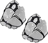 Yaktrax Spikes for Walking on Ice and Snow (Pair), Large/X-Large (2 Pack)