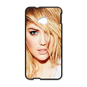 Celebrities Charming Kate Upton HTC One M7 Cell Phone Case Black Pretty Present zhm004_5968489