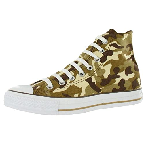 Converse Chuck Taylor All Star Prt Hi Tan Camo High-Top Canvas Fashion  Sneaker - 8M / 6M