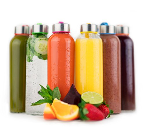 reusable glass soda bottles - 3