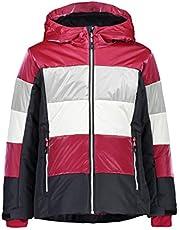 CMP Girls Shiny Effect Ski Jacket, Girls, 30W0255
