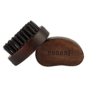 RUBAB MEN Beard Brush And Beard Comb – Beard Care Combo Made With Premium Hand Crafted Wood (#Groom @Home. Stay Safe)