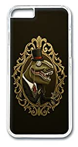 Dinosir Custom iphone 6 4.7inch Case Cover Polycarbonate Transparent