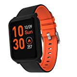 AAYU Smart Watch| Built in Pedometer | Heart Rate Monitor (H706, Orange) Bluetooth Smart Watch:All-Day Heart Rate and Activity Tracking, Sleep Monitoring,Ultra-Long Battery Life, Bluetooth