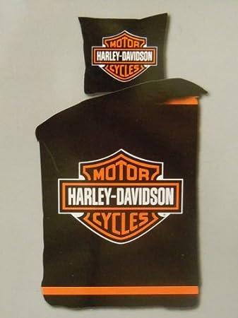 Harley Davidson Bettwäsche 135x200 Polyester Neu 4368 Amazonde